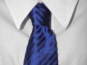 Cravates Cadre - Bleu