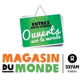 Magasin Du Monde - Oxfam Québec - Logo Carré