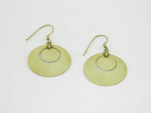 Les Boucles D'oreilles – Cercle – Laiton Recyclé