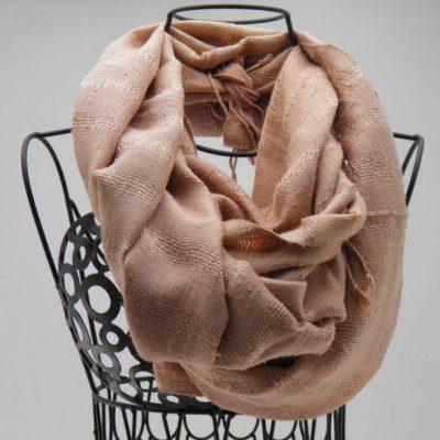 Le Soyeux - Foulard soie sauvage - Rose