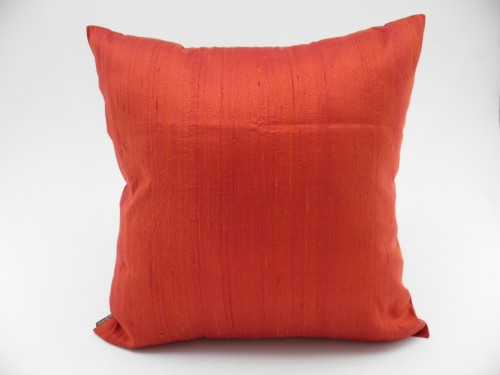 Coussin Soie Sauvage Nature