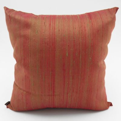 Coussin Soie Sauvage Nature - Grenade