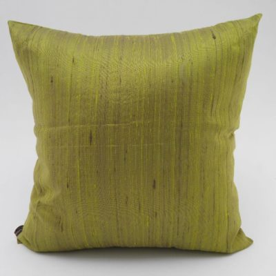 Coussin Soie Sauvage Nature - Bambou