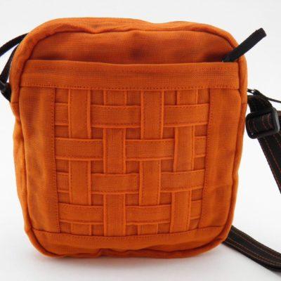 Le Quadrillé - Petit - Sac à bandoulière - Orange
