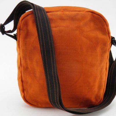 Le Quadrillé - Petit - Sac à bandoulière - Orange - verso