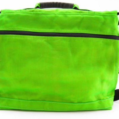 Le Relax - Sac Messager - Vert Pomme - verso