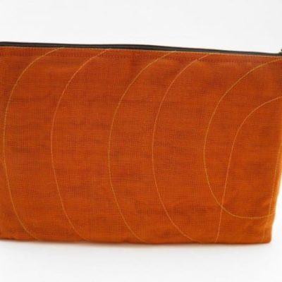 La Pochette Tablette 11 pouces - Orange - verso