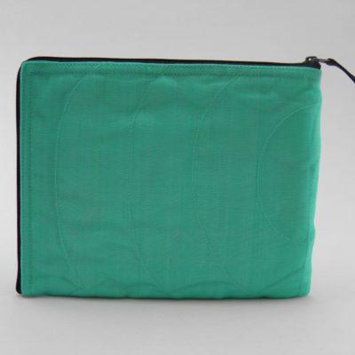 La Pochette Tablette iPad - Turquoise - verso