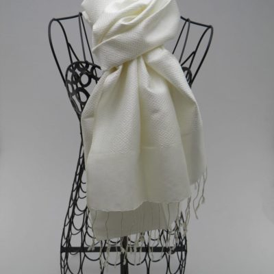 Foulard Classique Blanc