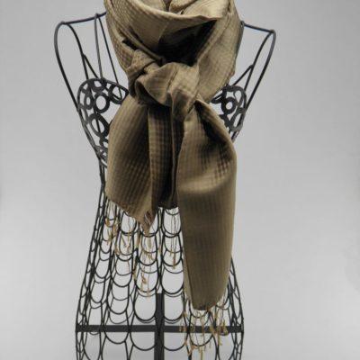 Foulard Vichy - Bronze