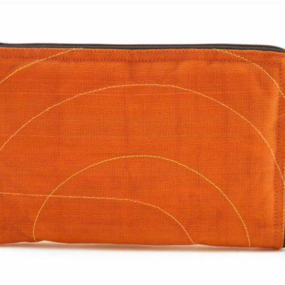 La Pochette Tablette iPad Mini - Orange - verso