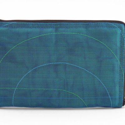 La Pochette Tablette iPad Mini - Bleu pétrole - verso