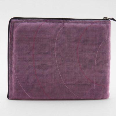 La Pochette Tablette iPad - Lilas - verso