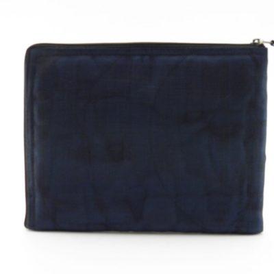 La Pochette Tablette iPad - Bleu marine - verso