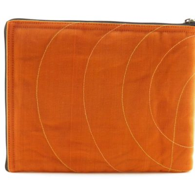 La Pochette Tablette iPad - Orange - verso