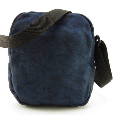 Le Quadrillé – Petit - Sac à bandoulière - Bleu marine - verso