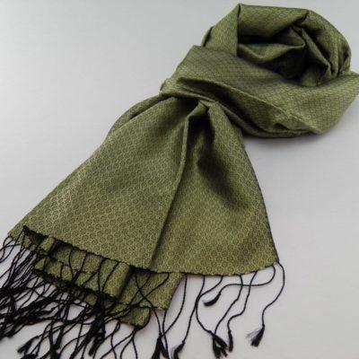 Le VIP - Foulard De Soie - Thé Vert
