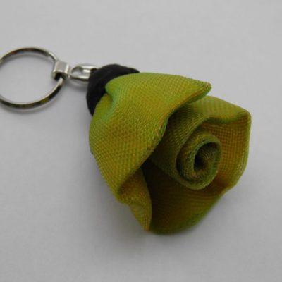 Porte-clés Fleur - Petit - Jaune