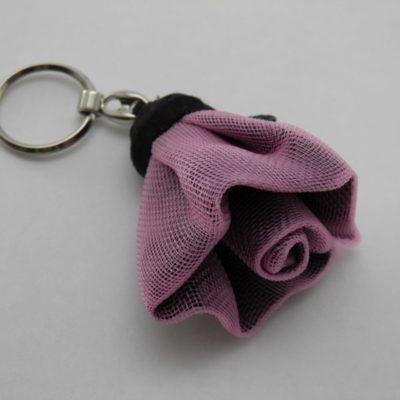 Porte-clés Fleur - Petit - Lilas