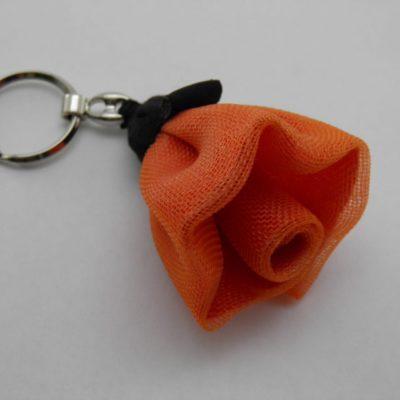 Porte-clés Fleur - Petit - Rouge