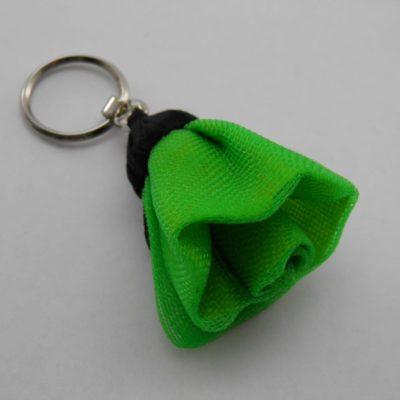Porte-clés Fleur - Petit - Vert pomme