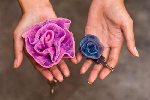 Porte-clés Fleur - Petit Et Grand