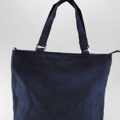 Le Fonctionnel – Sac à main - Bleu marine - verso