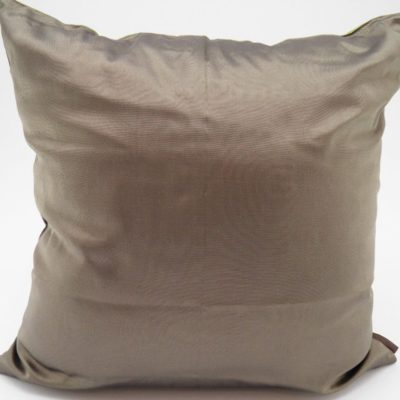Coussin Charmant - Bronze / Anis - 45x45cm - verso