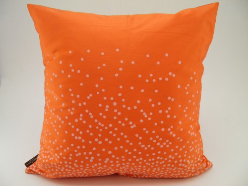 Coussin Explosion De Points - Orange - 45x45cm