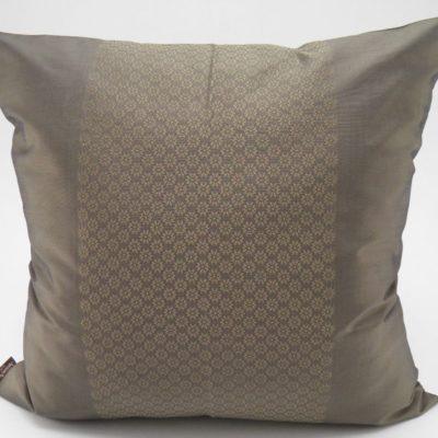 Coussin Soie – Chorebap Jasmine - Bronze - 45x45cm