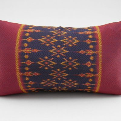 Coussin IKAT Hol Lboeuk - Traditionnel - 45x27cm