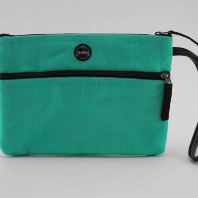 La Pochette poignet - éthique - Turquoise