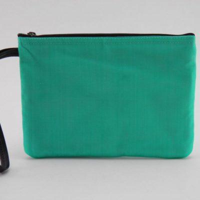 La Pochette poignet - éthique - Turquoise - verso
