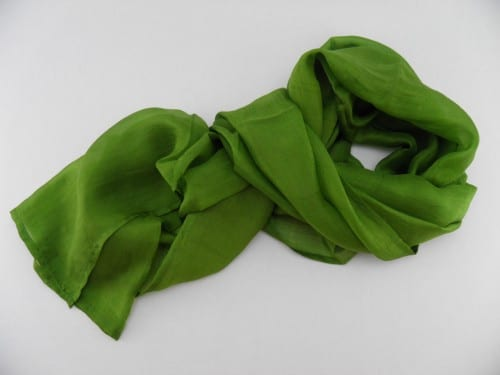 Collection Sorbet - Foulard Soie équitable - Basilic