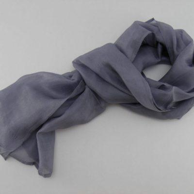Collection Sorbet - Foulard soie équitable - Sésame noir