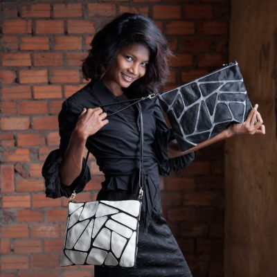 Tile - Eco-friendly Leather Bag