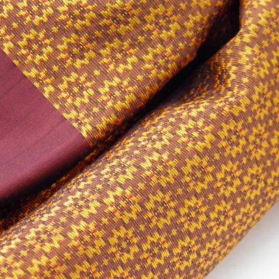 Écharpe Gala - Brocart de soie - Or - détail