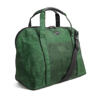 Le Cabine - Sac de voyage éthique - Vert bouteille