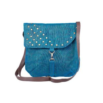 Patch - Ethical Shoulder bag - Oil blue