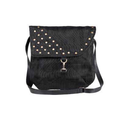 Patch - Ethical Shoulder bag - Black