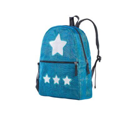 Le Brillant - sac à dos éthique - Bleu pétrole - Étoile
