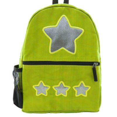Le Brillant - sac à dos éthique - Jaune - Étoile