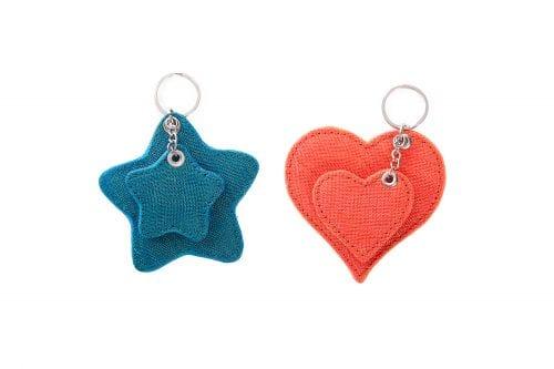 Le Porte-Clés Éthique Étoile Ou Coeur