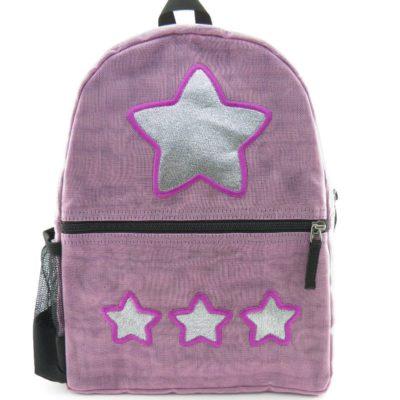 Le Brillant - sac à dos éthique - Lilas - Étoile