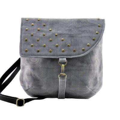 Patch – Ethical Shoulder bag – Gray