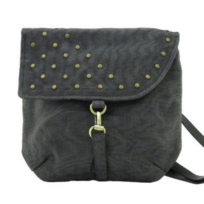 Patch – Ethical Shoulder bag – Charcoal