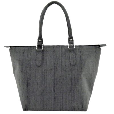 Leisure Raw Silk Handbag