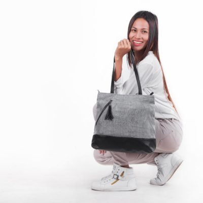 Planner - Ethical Shoulder Bag - Gray
