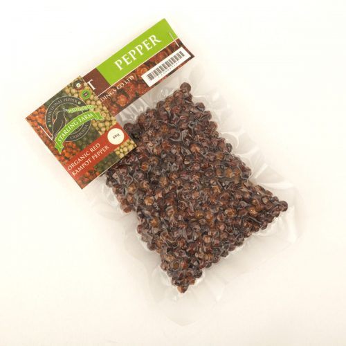 Kampot Pepper Red - Starling Farm - 50g.