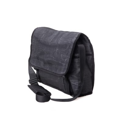 Shuttle - ethical business bag - Charcoal side